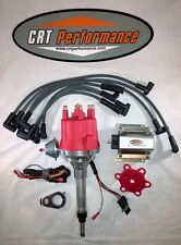 small cap CHEVY INLINE 6 Cylinder 194-216-235 Red HEI Distributor, Coil & Wires