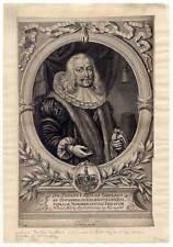 Paulus Carolus Groland 1617-1686 - Portrait-Kupferstich Jacob Sandrart um 1680