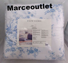 Ralph Lauren Home Dauphine KING Comforter White / Blue
