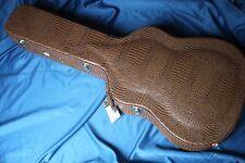 Stone Alligator Tolex  Hardshell Dreadnought Guitar Case w/Hygrometer, ST-DAG