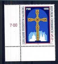 AUSTRIA - 1998 -12° centenario del vescovado in Salisburgo. E4471