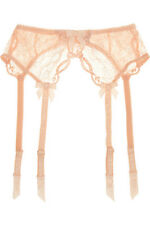 AGENT PROVOCATEUR LOVE SUSPENDER PEACH SIZE 3 / MEDIUM / 10-12 BNWT