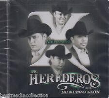 SEALED - Herederos De Nuevo Leon CD NEW X Aniversario ALBUM 12 Exitos NUEVOS