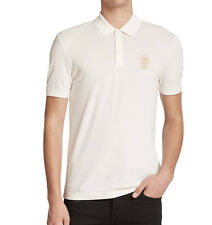 100%authentic Gucci Embroidered Polo ivory  size L