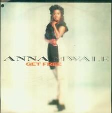 "7"" Anna Mwale/Get Free (D) Cut Out (Downtempo)"