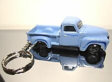 2016 Hot Wheels Blue '52 Chevy Classic Antique 3 Pack Custom Key Chain Ring!