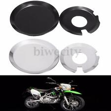 Aluminum Engine Clutch Case Cover Guards Set For Kawasaki KLX400 Suzuki DRZ400