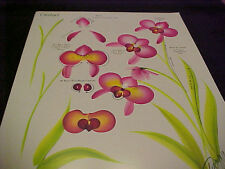 Donna Dewberry One Stroke RTG Petunia/Orchid Reusable Teaching Guide NEW
