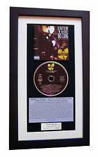 WU-TANG CLAN Enter 36 Chambers CLASSIC CD TOP QUALITY FRAMED+EXPRESS GLOBAL SHIP
