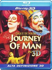 Blu Ray JOURNEY OF MAN 3D - Cirque Du Soleil ( Blu Ray 3D)  ......NUOVO