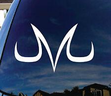 "Vegeta Majin Dragonball Z Car Window Vinyl Decal Sticker 6"" Wide"