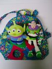 TOY STORY Buzz Lightyear Woody Alien plush doll set & Jackpopz backpack bag toy