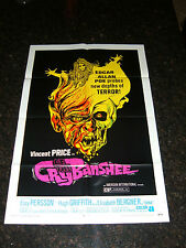 """CRY OF THE BANSHEE Original 1970 Movie Poster, 27 x 41"""", C9 Near Mint Condition"""