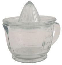 Ib Laursen Zitronenpresser Zitruspresse inkl. Messbecher Glas spülmaschinenfest