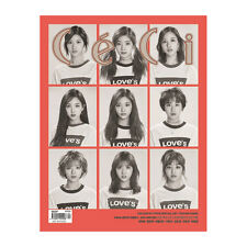 CECI KOREA FULL MAGAZINE April with Twice(B)16page+folded poster+Bromide