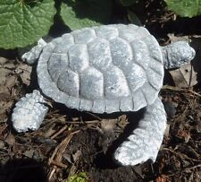 """Latex only small sea turtle Plaster mold Concrete mould 4""""L x 3/4""""H"""