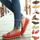 Hot New Womens Lady Casual Oxfords Flats Shoes Leather Ballet Loafers Boat Shoes