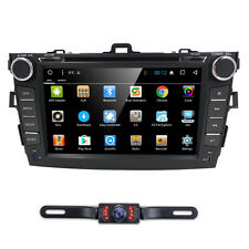 Android6.0 Car Dash DVD Player GPS Navigation Radio Stereo BT for Toyota Corolla