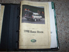 1998 Land Rover Range Rover Owner Manual User Guide SE 4.0 HSE 4.6 V8 4WD