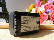 Battery for NP-FV50 Sony Handycam HDR-CX130 HDR-CX160 HDR-CX160E HDR-XR160