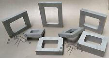 Conjunto de marcos de molde de aluminio 7 cavidad Vulcanizador Goma Fabricación de Joyería Herramientas De Fundición