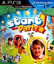 Start the Party! BRAND NEW SEALED Sony PlayStation 3 PS PS3 GAME PARTY