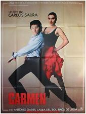 CARMEN Affiche Cinéma / Movie Poster CARLOS SAURA TANGO DANSE