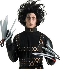 FANCY DRESS GLOVES ~ DELUXE EDWARD SCISSORHANDS GLOVES