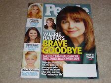 VALERIE HARPER CANCER * MICHELLE WILLIAMS March 18 2013 PEOPLE MAGAZINE