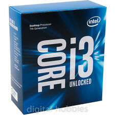 Intel Core i3-7350K UNLOCKED Kaby Lake 7th Gen 4.2GHz LGA 1151 BX80677I37350K