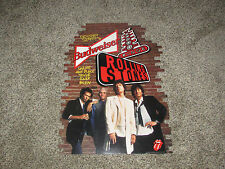 Rolling Stones Voodoo Lounge 3 D Budweiser Double Sided Cardboard Sign