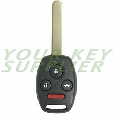 New Uncut Honda Civic SI EX Remote Key Fob Keyless Entry Replacement Transmitter