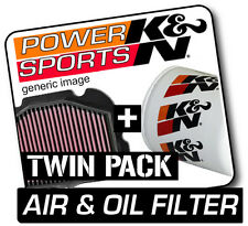 BMW F650GS 652 2004-2007 K&N KN Air & Oil Filters Twin Pack! Motorcycle
