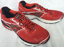 new Brooks Ravenna 5 High Risk Red 1101561D608 Marathon Running Shoes Men's 10 D