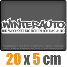 Winterauto csf0212  20 x 5 cm JDM Decal Sticker Aufkleber Racing Die Cut