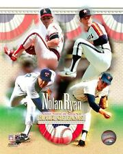 NOLAN RYAN ~ 8x10 Color Photo Picture Collage ~ Hall of Fame 1999 Tribute