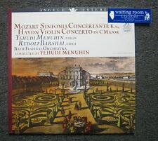 Mozart: Sinfonia Concertante K.364 / Haydn: Violin Concerto LP - Yehudi Menuhin