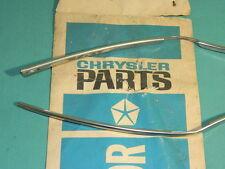 NOS Mopar 1972 Chrysler & Imperial 2 Door Edge Accessory Kit