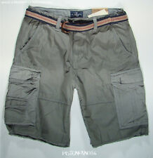 American Eagle Mens Gray Belted Frayed Cargo Shorts 31 NWT