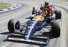 ROBERT TOMLIN - MANSELL'S TAXI SERVICE - NIGEL SENNA F1