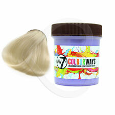 W7 colourways semi-permament hair dye in white calmer - 90ml