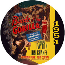 "Bride of the Gorilla (1951) Classic Sci-fi and Horror CULT ""B"" NR Movie DVD"