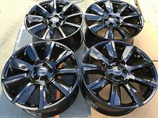 "20"" NEW BLACK OEM FACTORY RANGE ROVER SPORT SUPERCHARGED AUTOBIOGRAPHY WHEELS."
