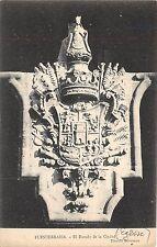 B93457 el escudo de la ciudad  fuenterrabia postcard    spain
