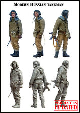 Evolution Miniatures 1:35 Modern Russian Tankman Resin Figure Kit #EM-35011
