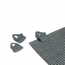 4 Universal Clips Zelt Teppich Boden Schnellspann Klemme Pavillion Planen Halter