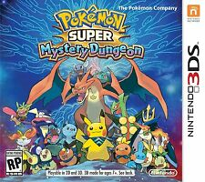 NEW Pokemon Super Mystery Dungeon (Nintendo 3DS, 2015)