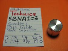 TECHNICS SBNA103 SPEAKER BASS TREBLE MODE SELECTOR KNOB SA-8500X
