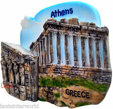 Athens Greece Greek Temple Parthenon Athena 3D Fridge Magnet Refrigerator