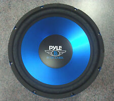 "Single 15"" inch Blue 4 ohm Performance Car Home Audio Stereo Woofer Bass Speaker"